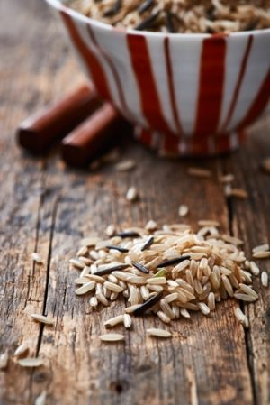 The dietary fiber in cereal foods
